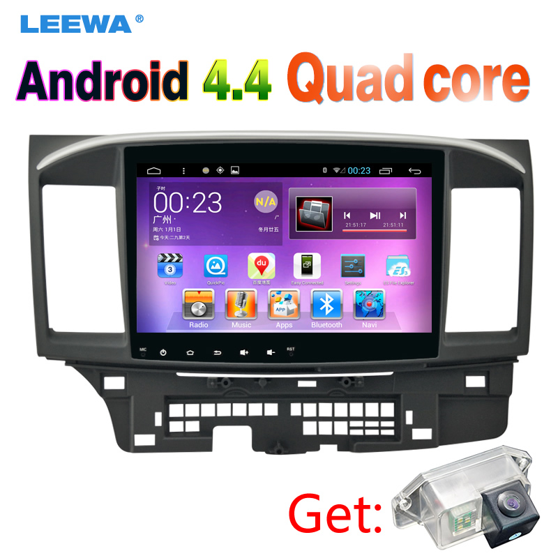 10inch Android 4 4 Car Head Unit Player With GPS Navi Radio For Mitsubishi Lancer EX