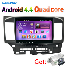 10inch Android 4.4 Car Head Unit Player With GPS Navi Radio For Mitsubishi Lancer EX(2007-present CY2A-CZ4A) LHD Get: Camera