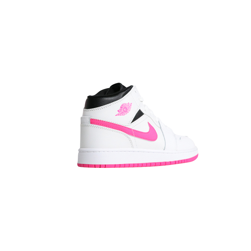 a5bb560c487580 Nike Air Jordan 1 Mid Hyper Pink Candy Women Skateboarding Shoes ...