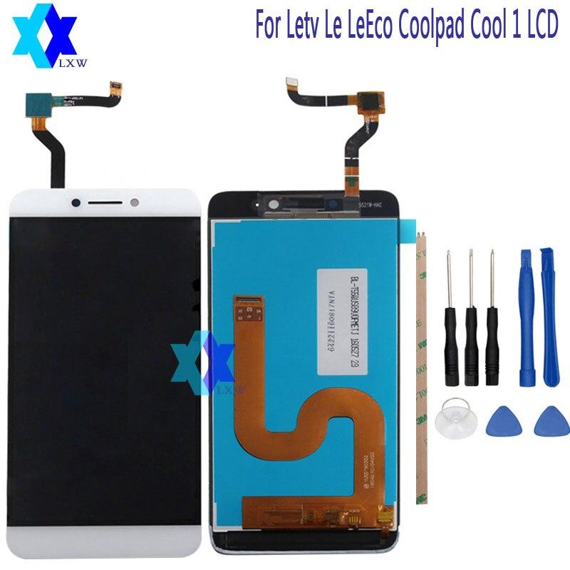 Für Letv LeEco Coolpad cool1 kühlen 1 c106 c106-7 C106-9 LCD Display + Touch screen Digitizer Assembly Ersatz + Werkzeuge