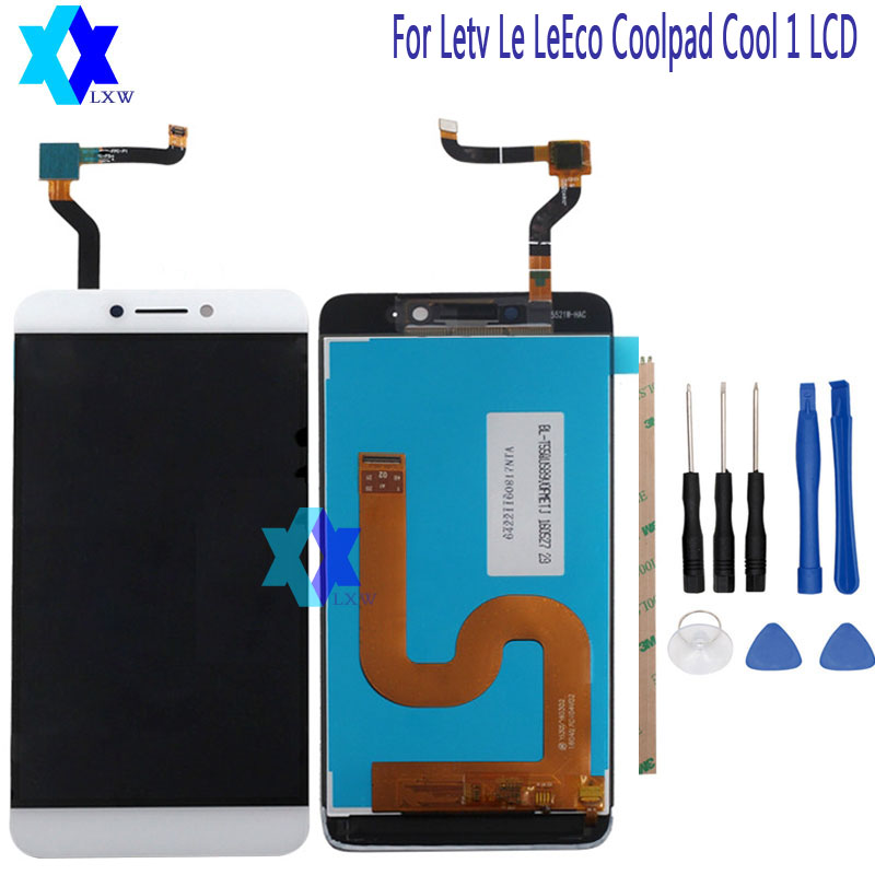 For Letv LeEco Coolpad cool1 cool 1 c106 c106-7 C106-9 LCD Display + Touch screen Digitizer Assembly Replacement + Tools