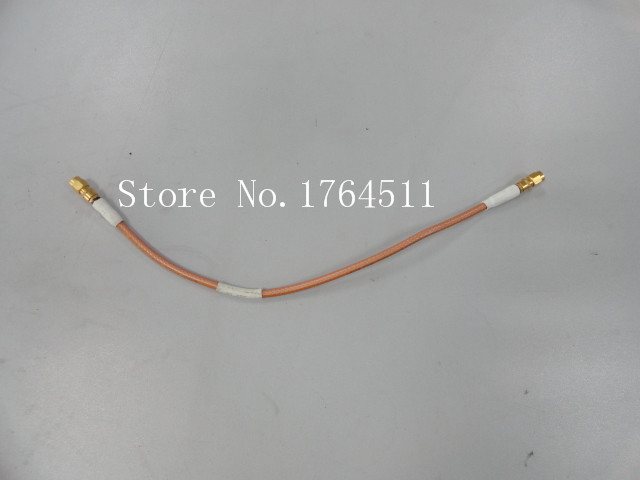 [BELLA] R474449-01 DC-18GHZ SMA One SMA Male RF Test Cable 35CM  --5PCS/LOT