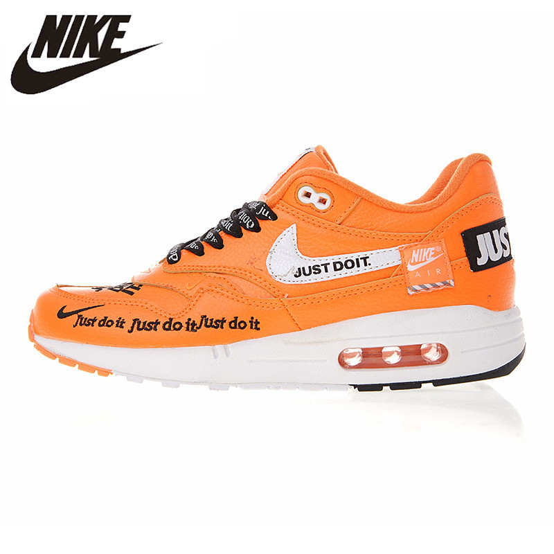 NIKE Air Max Zero QS 87 OW Joint Men's and Women's Running Shoes,Orange Shock Absorbing Breathable Wear resistant 917691 800