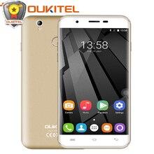 Официальный Oukitel U7 Max 5.5 дюймов HD мобильный телефон MTK6580A Quad Core Android 6.0 1 г Оперативная память 8 г Встроенная память 8.0MP Камера 3 г WCDMA смартфон