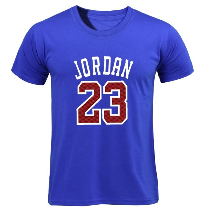 Print T Shirt Homme 2019 New Brand T-shirt Clothing Jordan 23 Print Men Swag Skate T-Shirt Cotton Fitness Camisetas Hip Hop Tees Футболка