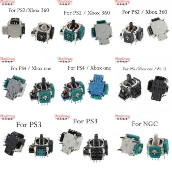 for Sony Dualshock 4 PS4 PRO PS2 PS3  Slim Controller 3pin 3d Rocker Joystick Axis Analog Sensor Repair Parts  For xbox one 360 недорого