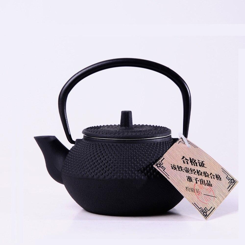 Service à thé petites particules kung fu théière pot en fer pot - Cuisine, salle à manger et bar - Photo 3