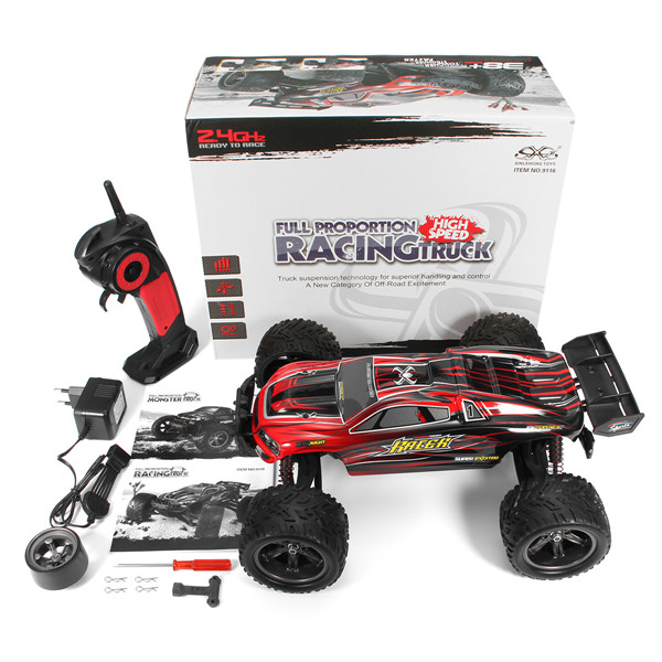 GPTOYS S912 RC Car Wireless 2.4G Truck off-Road Racing Car 1:12 Scale Electric Cars