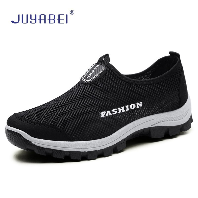 Breathable Mesh Chef Shoes Men's Soft Bottom Non-slip Kitchen Shoes Restaurant Hotel Cafeteria Hairdressers Salon Work Shoes