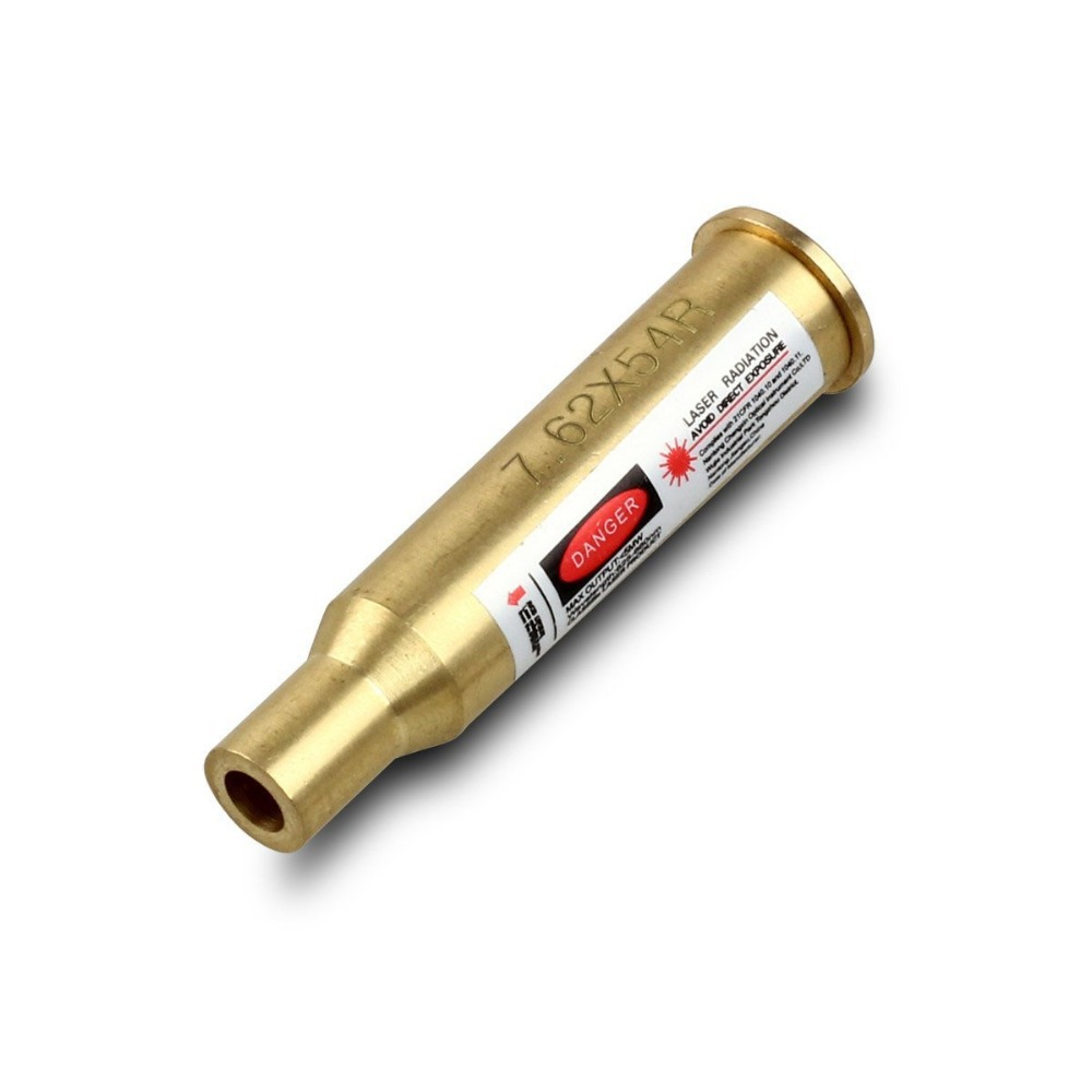 New 7.62 x 54R Cartridge Caliber Laser Bore Sight Boresighter Sighter Brass