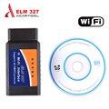 2016 Melhor Preço ELM327 Wifi Scanner Auto Ferramenta De Diagnóstico OBD2 ELM 327 WIFI Scanner OBDII V 1.5 Sem Fio Tanto Para Android/IOS