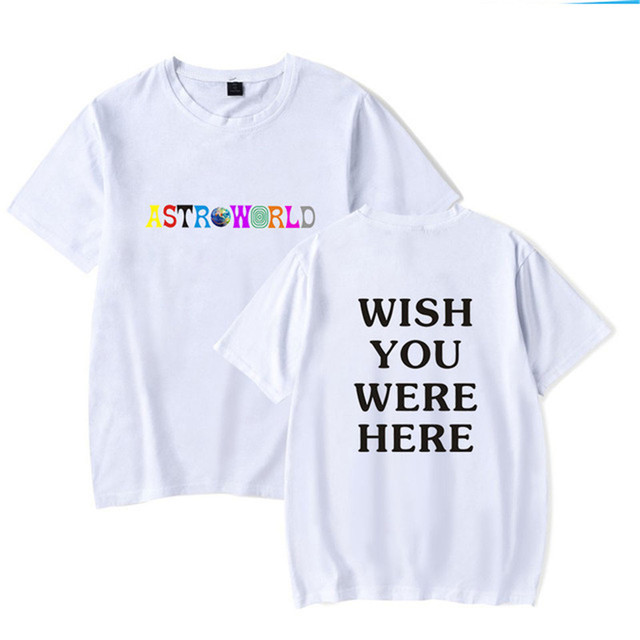 TRAVIS SCOTTS ASTROWORLD T-SHIRT (7 VARIAN)