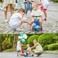 Детская игрушка Регулируемая Т бар три автомобиль одна кнопка преобразования без инструментов интерактивная игрушка автомобиль ребенок О