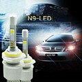 Car Styling Super Bright N9 9600lm 45w H8 H9 H11 Xenon White 6000K Car LED Headlight Conversion Kit Lamp Cree XHP-50 4800lm Bulb