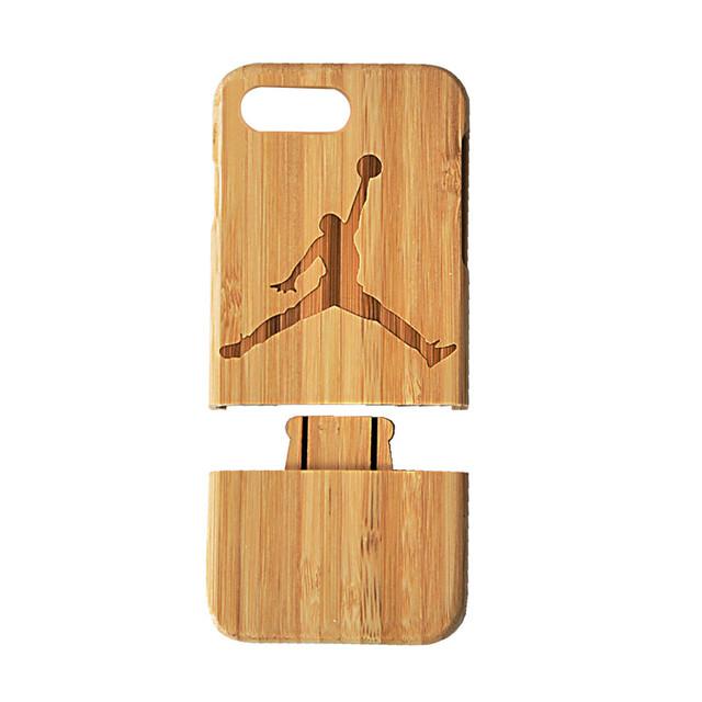 Wooden Michael Jordan Case For iPhone