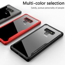 IPAKY For Samsung Note 9 Case Anti knock Shockproof Protective Silicone Cover Galaxy note9 Transparent Original