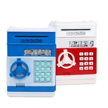 Automatic Roll Money Password Safe ATM Deposit Tank Mini Safe And Creative Piggy Bank макаронные изделия barilla букатини 9 400 г