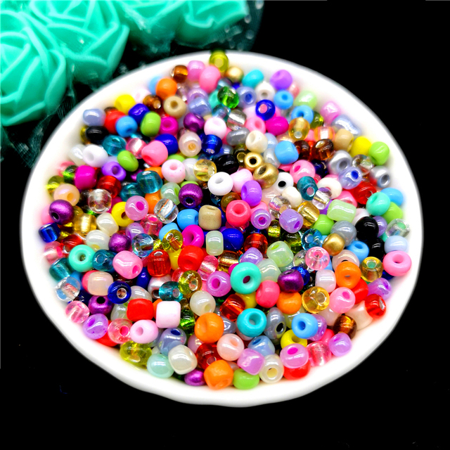 2mm 3mm 4mm Czech Beads Crystal Glass Seed Beads for Jewelry Making Earring Necklace Bracelet Charms Handmade DIY