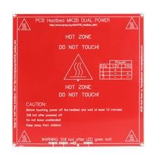 3D Printer PCB Heatbed MK2B Board 12/24 Dual Power Hot Plate Module 214x214mm
