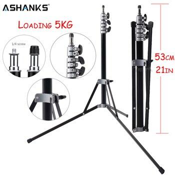 Складной штатив для фотосъемки ASHANKS, 7 футов/210 см, E27, лампа держатель для фотостудии, светильник, переносной