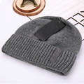 Hot Winter Double layer Plus Thick Beanies Solid Color Men Women Knitted Woolen Hat Skullies Warm Soft Beanie Cap Bonnet Gorro