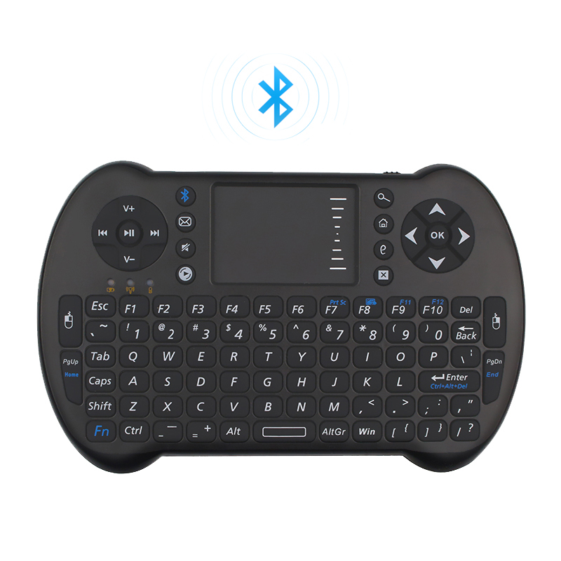 Bluetooth Remote Controller Wireless Mini Keyboard Combo for Android TV Box Smart TV PC Laptop Tablet