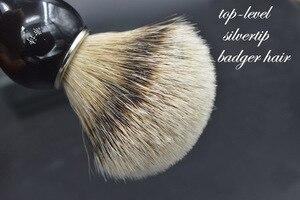 Image 3 - Silvertip włosia borsuka pędzel do golenia ręcznie robiony pędzel do golenia zestaw do pielęgnacji męskiej