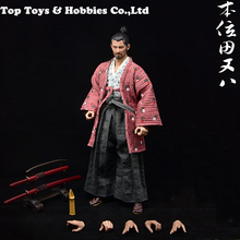FULL 1/6 Scale Japanese Samurai The Position of Tian Ba Lonely Ronin / Miyamoto Musashi 12 Male Action Figure Doll Toys Gift