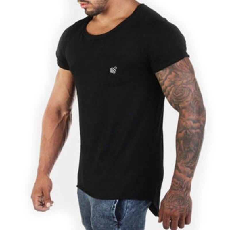 Mens Fashion Short Sleeve O Neck New Casual T-Shirt