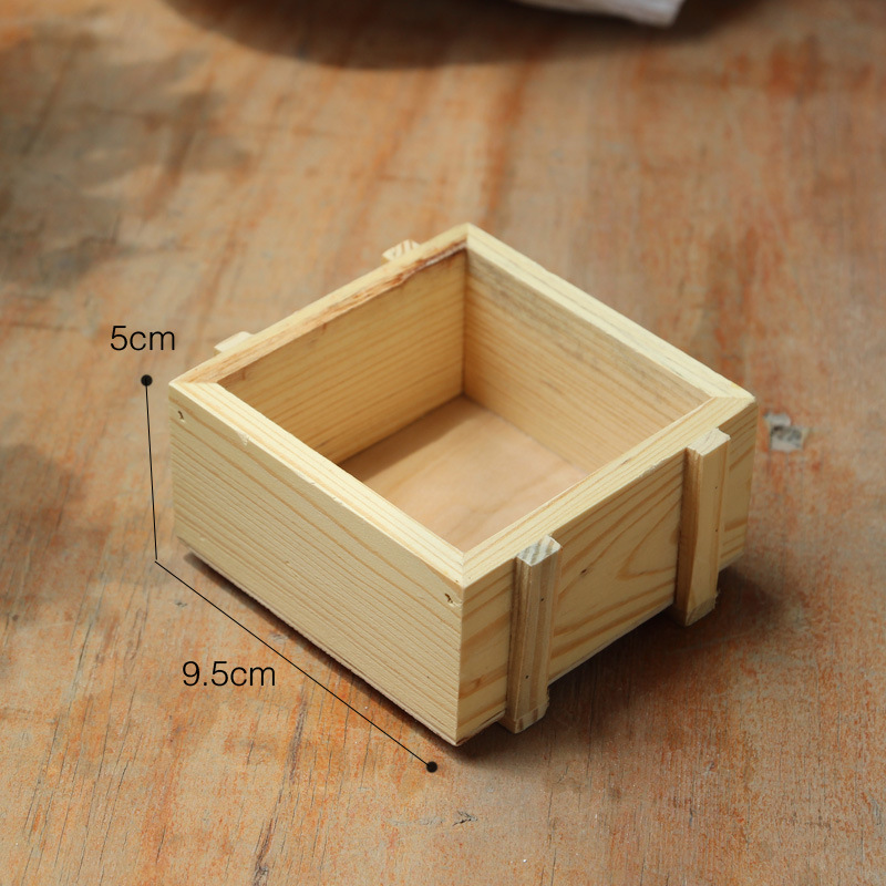 Home Decoration Wooden Storage Boxes Retro Wooden Storage Case Gorgeous Decorating Wooden Boxes