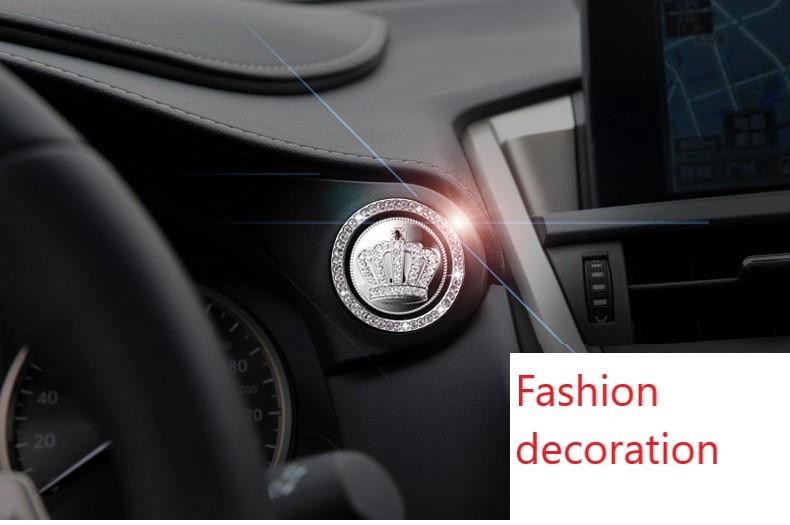Auto ignition switch cover accessories auto ignition ring sticker for Mitsubishi Grandis Outlander Pajero LancerEvo Eclipse