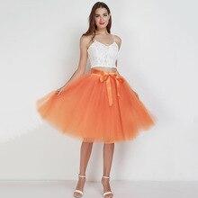 5e95dce911 Moda de verano chicas Sexy 7 tul falda alta cintura dulce lindo Multicolor  plisado elegante Baile de la princesa Tutu falda