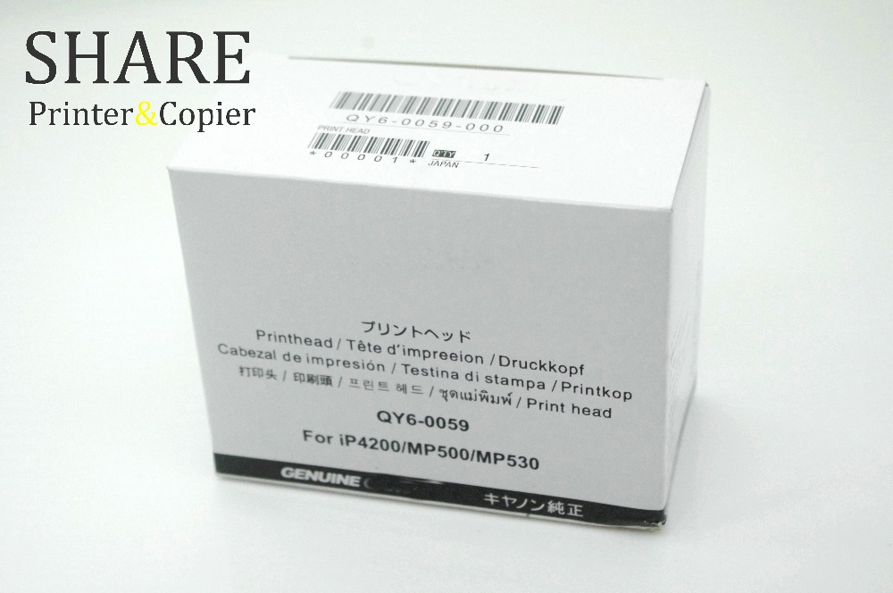 QY6-0059 PrintHead original new For canon IP4200 MP500 MP530 brand 100% new print head qy6 0059 printhead for canon ip4200 mp500 mp530