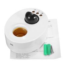 E27 human body  Infrared Light Lamp Holder Switch Motion PIR Sensor Adjustable Delay Base Lamp Holder