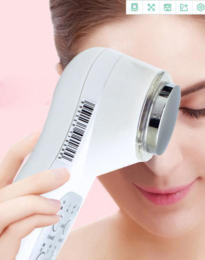 Hot Selling ultrasonic color light rejuvenation iontophoresis, whitening home beauty instrument free shipping hot sale safety home use electric potential therapeutic instrument beauty