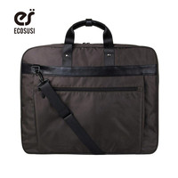ECOSUSI New Suit Cover Lightweight Black Nylon Business Dress Garment Bag Waterproof Suit Bag Durable Men