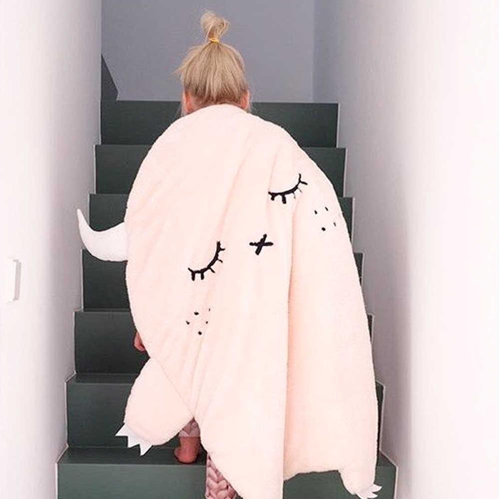 Tapetes de juego de bebé recién nacido Super lindo almohadilla de juego de sueño blanco niños estera de gateo alfombra de piso suave ropa de cama de pequeño ángel manta