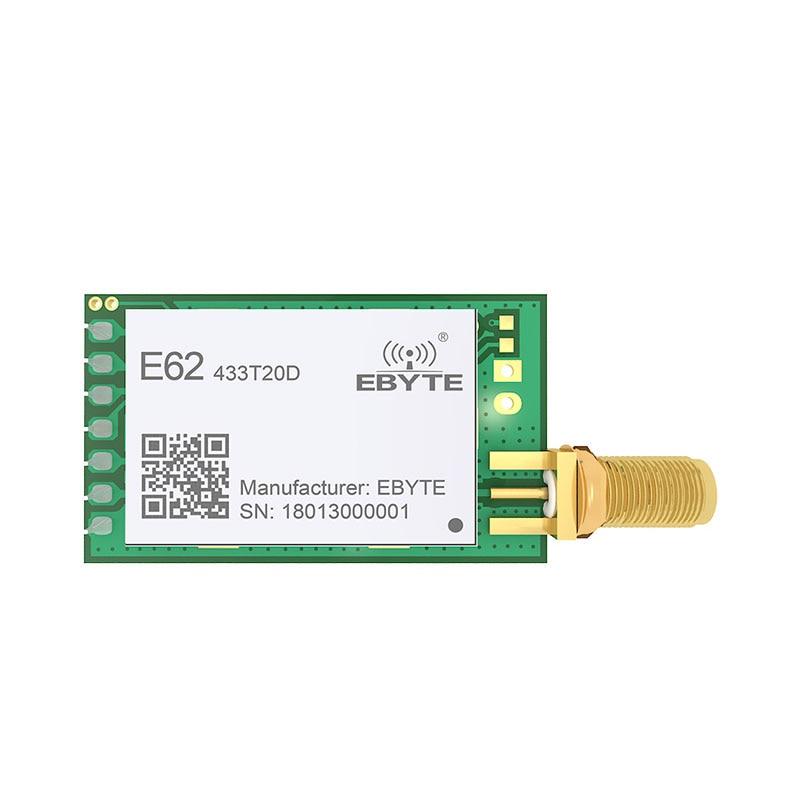 Image 2 - 433MHz TCXO Full Duplex rf Module ebyte E62 433T20D Long Range Wireless Transceiver iot Transmitter and Receiver UART-in Fixed Wireless Terminals from Cellphones & Telecommunications