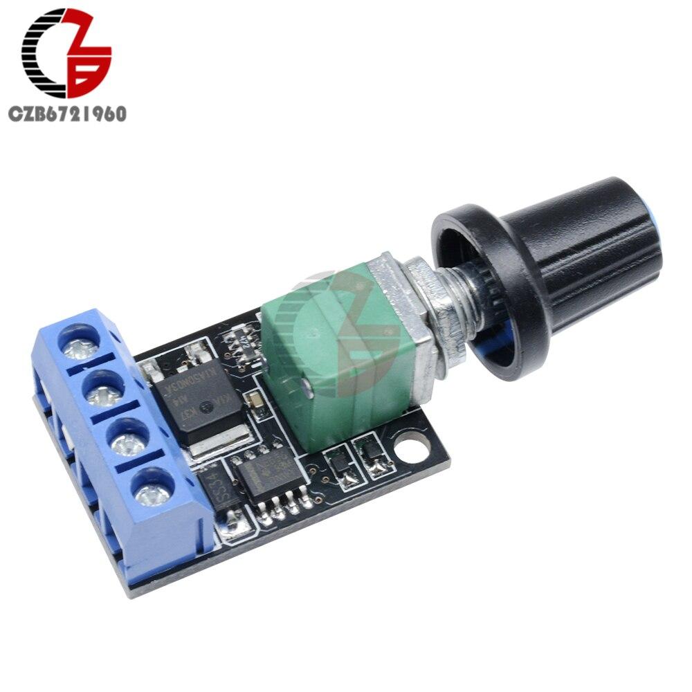 5-16V 10-14KHz 10A DC Motor Speed Controller Regulator 5V 12V PWM Adjustable Fan RC Motor Speed Voltage Control For LED Light