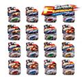 Free standard postage 1:64 Alloy car model Gold-plated painting Hot Wheels Sports car SUV combination kids toys