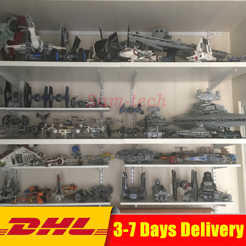 DHL LEPIN Star War 05007 05026 05027 05028 05033 05034 05036 05043 05037 05038 05039 05040 05132 Building Blocks Bricks Toys 2018 dhl lepin star series war 05007 05033 05132 building blocks bricks model toys compatible 75105 10179 75192 gifts