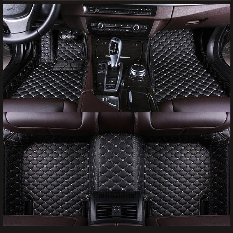 Custom fit car floor mats fit Mercedes Benz S classA C180/200 E260 W204 W205 E W211 W212 W213 CLA GLC ML GLE GL auto carpet 2019