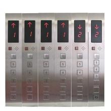 DC24V 6 этажей зал вызова Дисплей Plate для Лифт