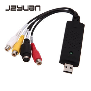 JZYuan TV DVD DVR VHS Video PC Capture Converter For Computer Win7/8/XP