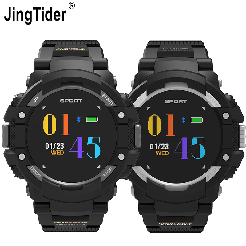 F7 Outdoor GPS Sport Watch Heart Rate Monitor IP67 Waterproof Bluetooth Smartwatch Temperature Altimeter Compass GPS Tracker