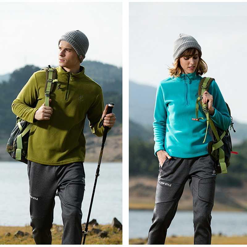 Tectop NIEUWE Merk Winter Polar Fleece Wandelen Jassen Mannen Vrouwen Warme Winddichte Jas Voor Trekking Ski Outdoor Sport Jas, AM056
