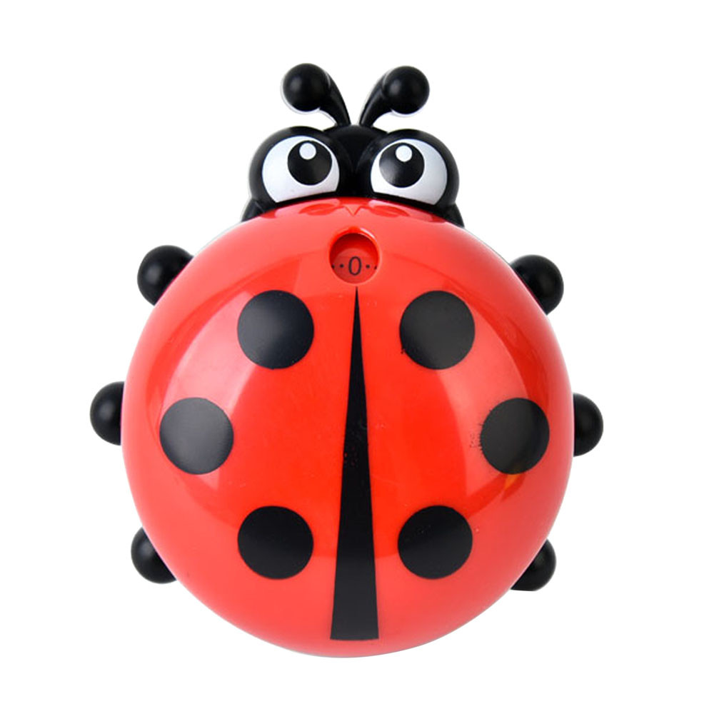 Timer Kitchen 60 Minute Cooking Mechanical Home Decoration New Fashion Design Popular Ladybug Creative 1pc