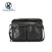 2017 New Style Bags For Men Business Casual PU Leather Crossbody Bags For Men Vintage Designer Sling Shoulder Bag High Quality