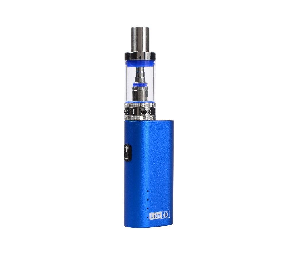 US $6 99 |Original Jomotech Lite 40w E cigarette Box Mod 40w With 5ml Glass  Tank Electronic Cigarette Vape Pen Starter Kits ECig Mod Kit-in Electronic