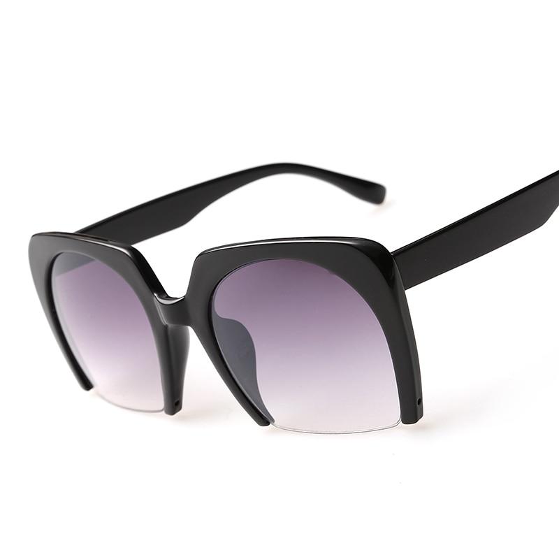 Semi Rimless Sunglasses  aliexpress com new cat eye semi rimless sunglasses frames